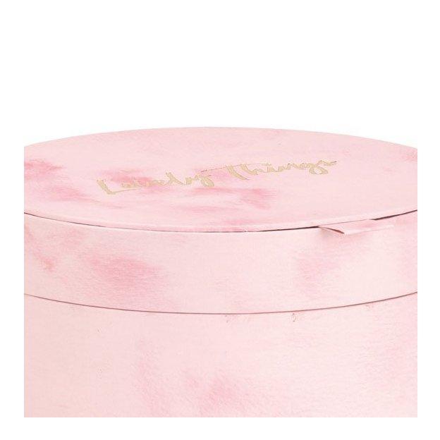 Geschenkbox Lovely Things rosa 3tlg.