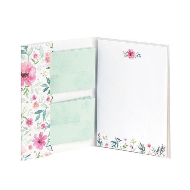 Briefpapier Set Blüten