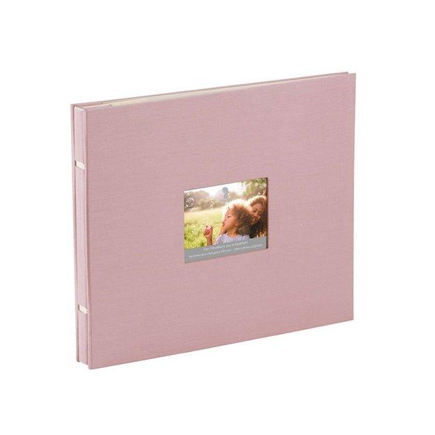 Fotoalbum mit Passepartout rose