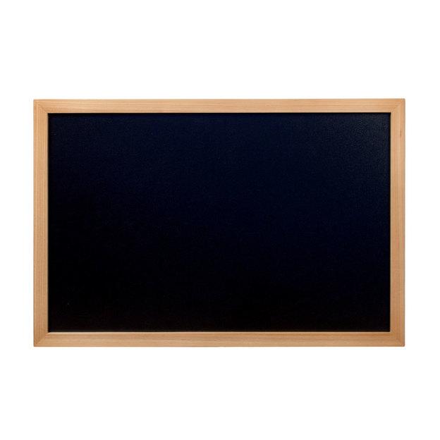 Kreidetafel mit Holzrahmen 60 x 40
