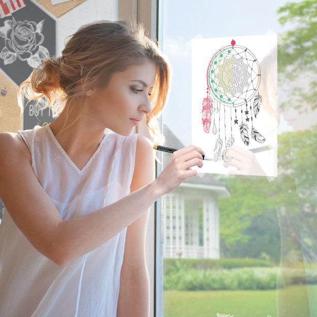 Fensterbild-Schablonen A2 Frames