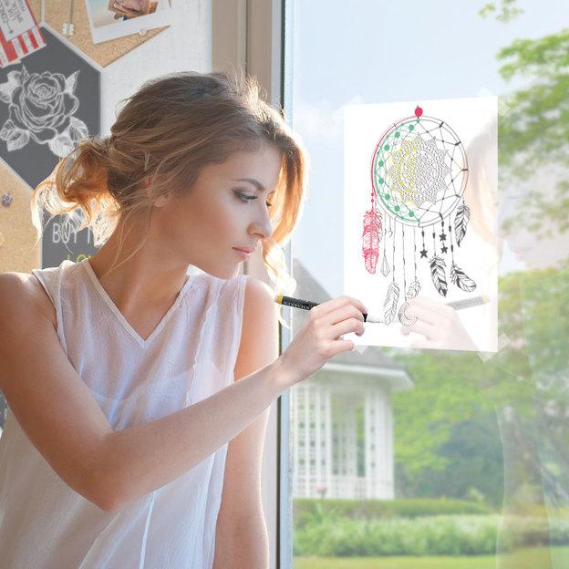 Fensterbild-Schablonen A2 für Kinder