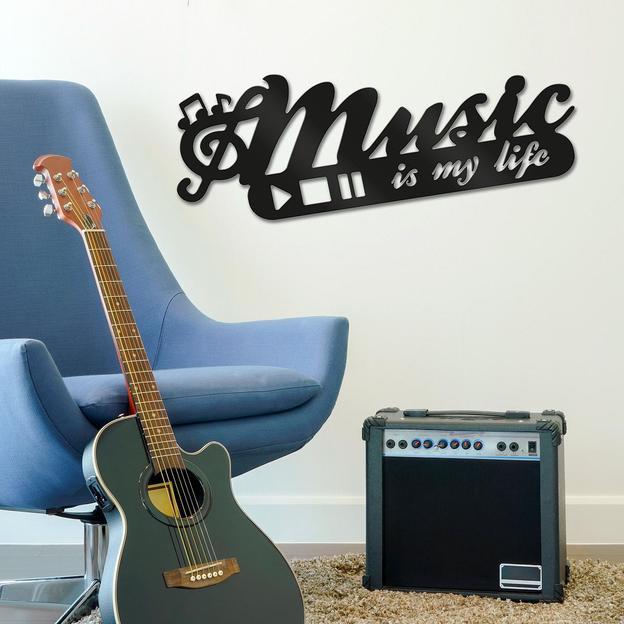 Déco murale Music 3D