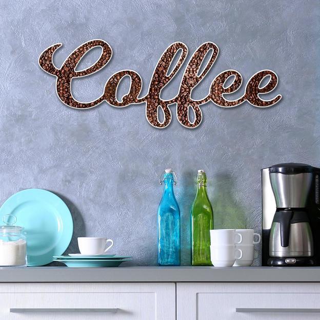 Wandtattoo 3D Coffee