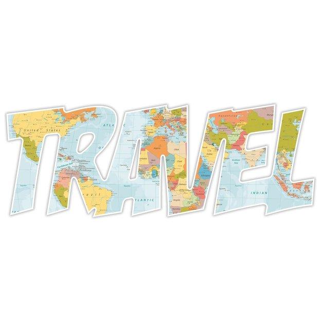 Déco murale Travel 3D