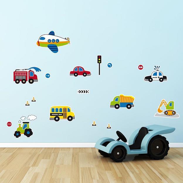 Wandtattoo Fahrzeuge