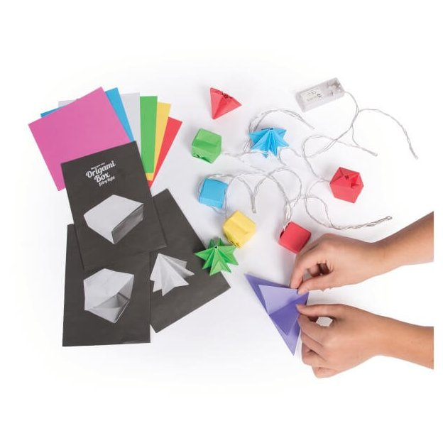Origami Girlande DIY