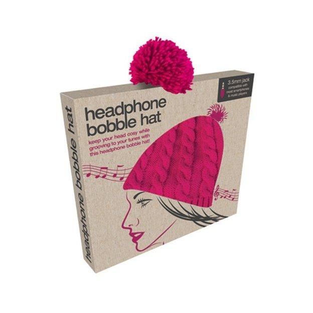 Mütze bobble hat mit eingenähten Kopfhörer