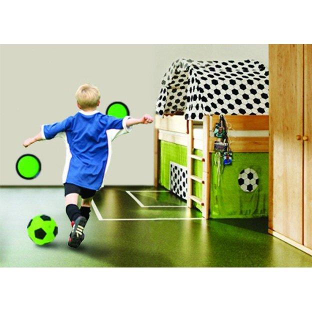 Kick & Stick - die Fussball Torwand für Drinnen