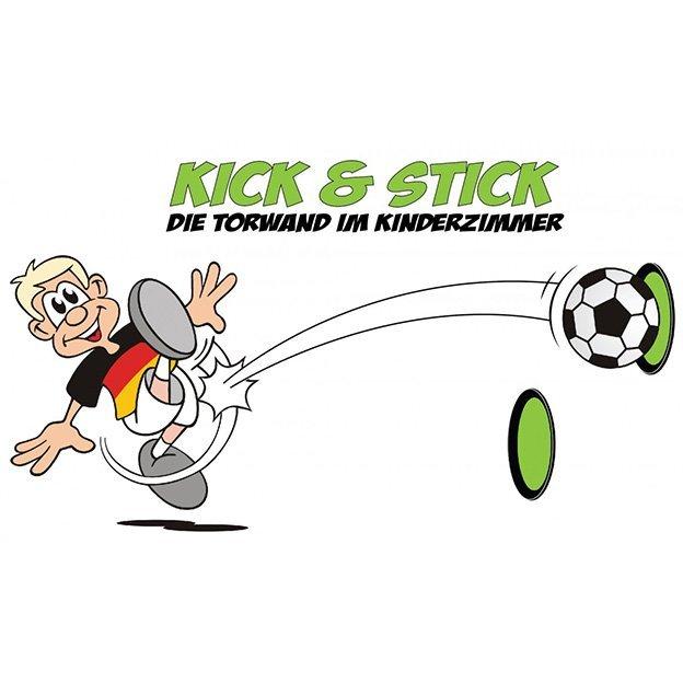 Kick & Stick - Jeu de foot indoor avec cibles et ballon