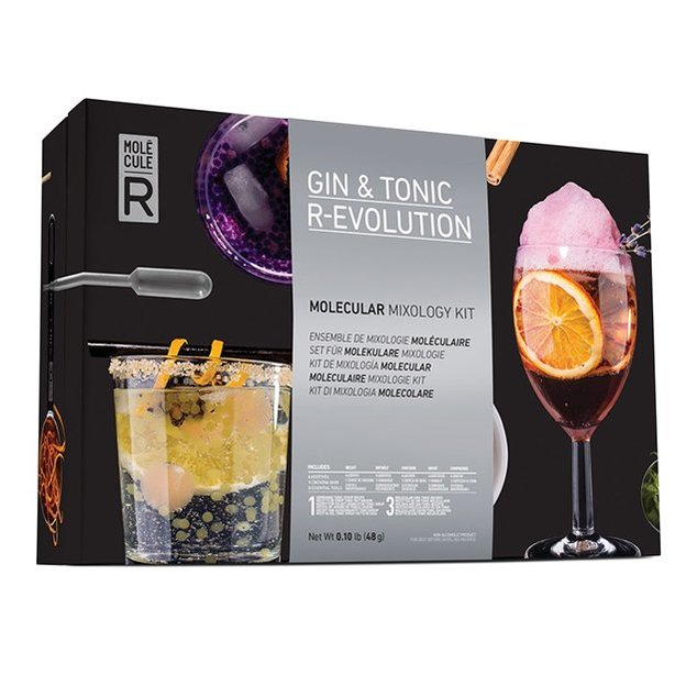 Gin & Tonic R-Evolution - Set de cocktail moléculaire