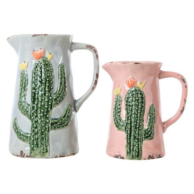 Krüge Hacienda Armadillo 2-er Set Kaktus