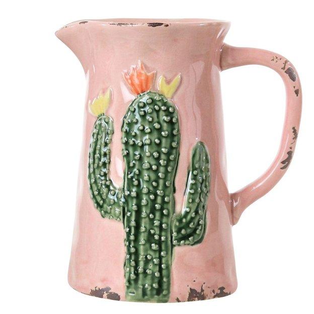 Carafes cactus Hacienda Armadillo, set de 2