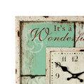 Wanduhr Wonderful Life 40 x 40