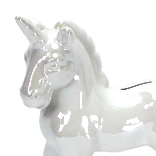 Tirelire Licorne en céramique