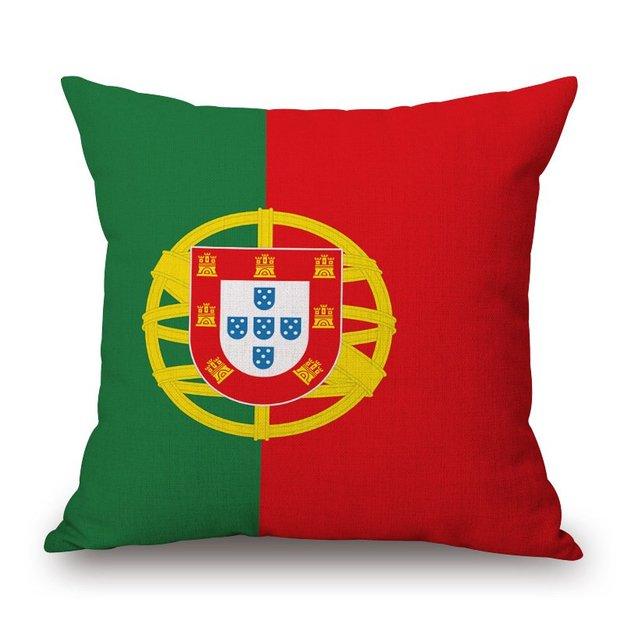 Kissenüberzug Länder-Flagge Portugal