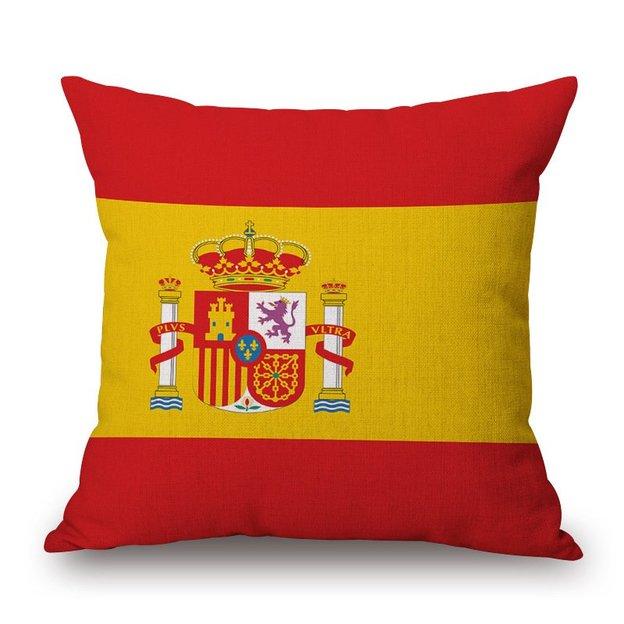 Kissenüberzug Länder-Flagge Spanien