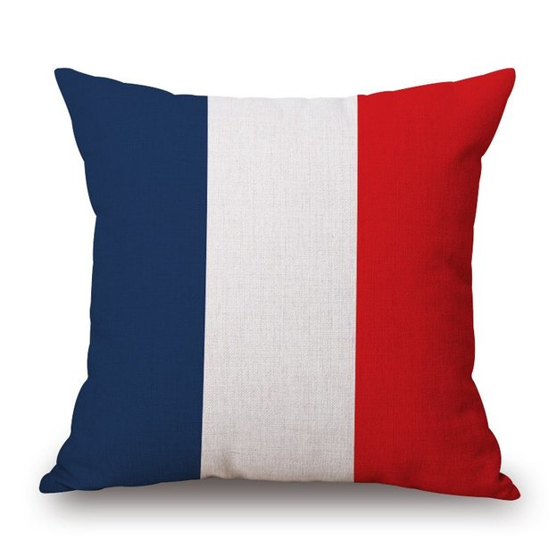 Kissenüberzug Länder-Flagge Frankreich