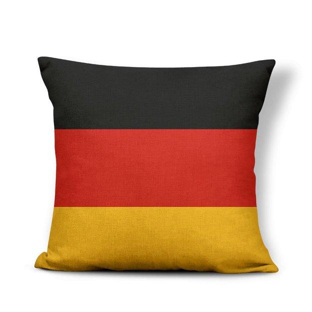 Kissenüberzug Länder-Flagge Deutschland