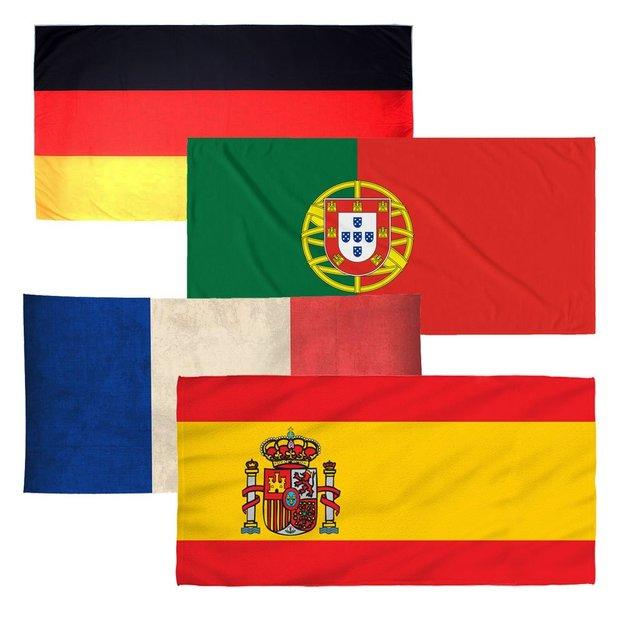 Strandtuch Länder-Flagge