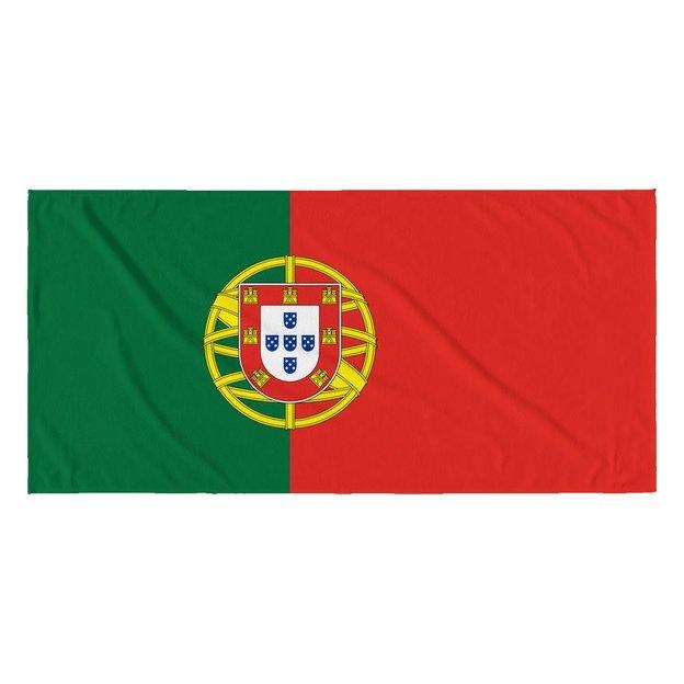 Strandtuch Länder-Flagge Portugal