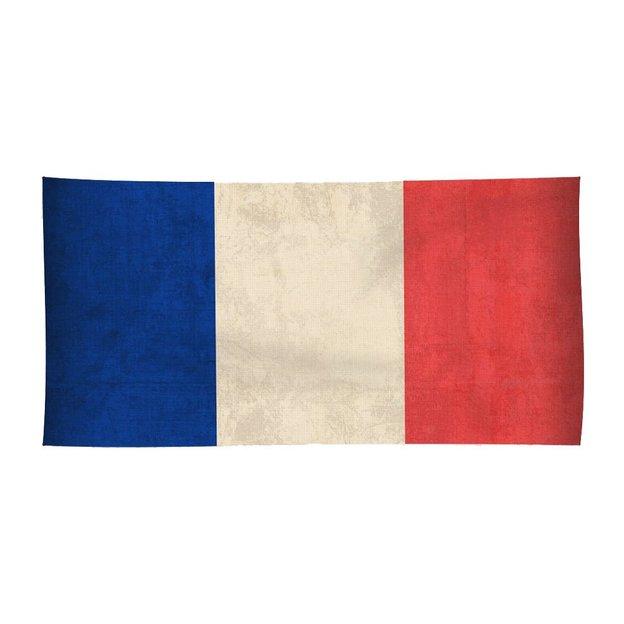 Strandtuch Länder-Flagge Frankreich