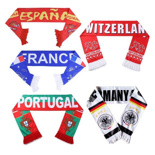Écharpes de foot Nations