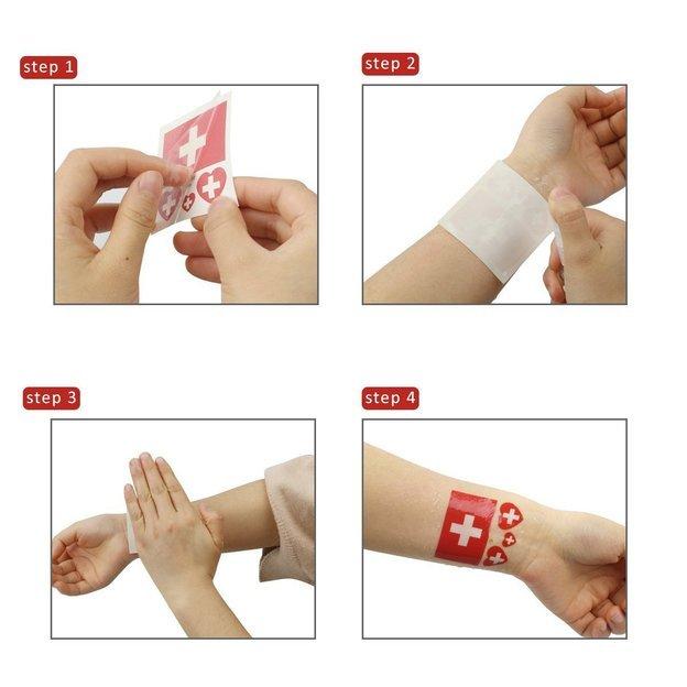 Tatouages éphémères Equipe suisse