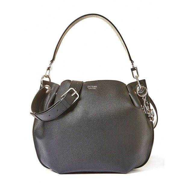 Guess Handtasche Digital black