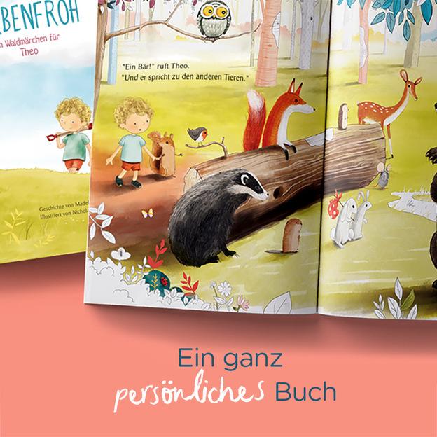 Personalisiertes Kinderbuch - Ein Waldmärchen