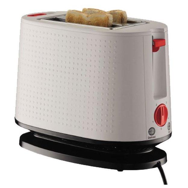 Toaster Bodum Bistro blanc Le Matin