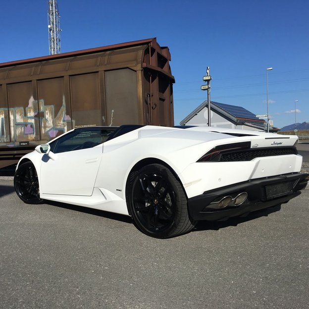 Lamborghini Huracan LP610-4 Spyder für 3 Stunden fahren