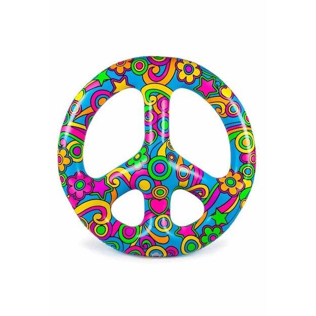 Bouée Peace and Love Le Matin