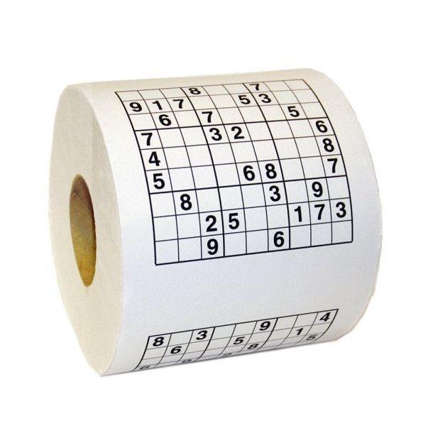 Papier WC Sudoku Le Matin