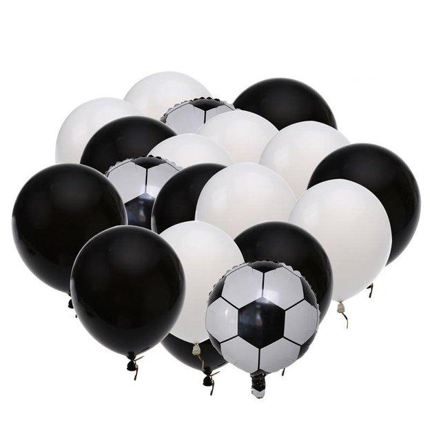 Fussball Ballonset 19 Stück