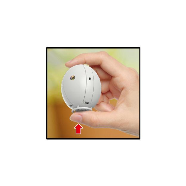 Fliegende Ei-Drohne zum selber bemalen