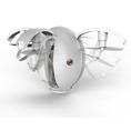 Drone-œuf avec caméra à peindre