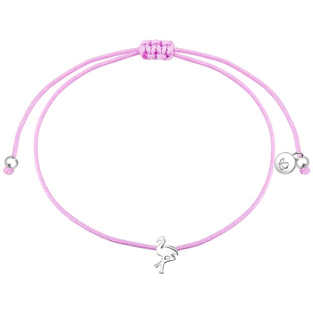 Armband Flora rosa Flamingo