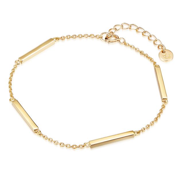 Armkette Sandy Sterling Silber vergoldet