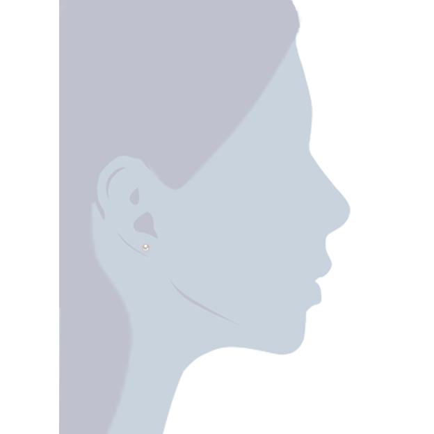 Boucles d'oreilles avec perles de culture d'eau douce