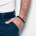Bracelet pour homme Skipper & Son - noir