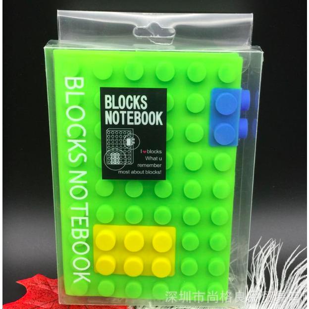 Carnet Blocks vert