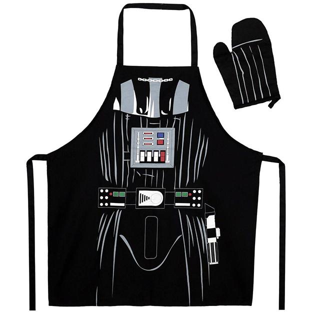 Tablier avec gant de cuisine Dark Vador, Star Wars