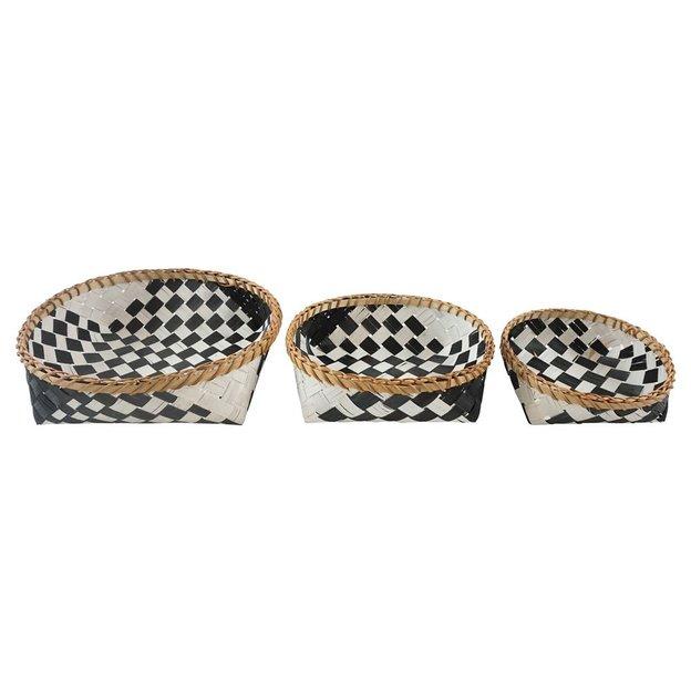 Körbe Black & White 3-teilig
