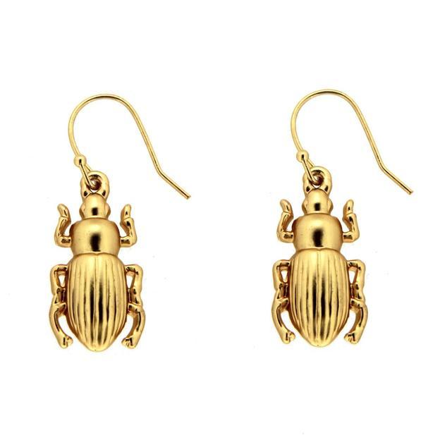 Sweet Deluxe Ohrringe Käfer gold