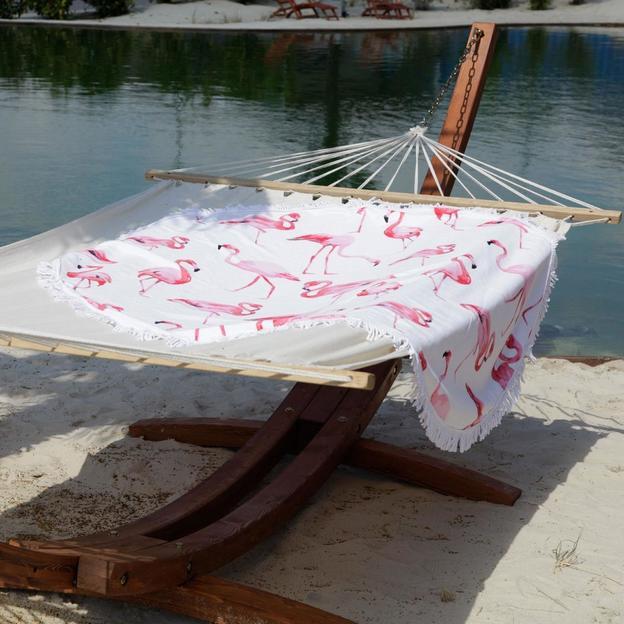 Serviette de plage Flamant rose