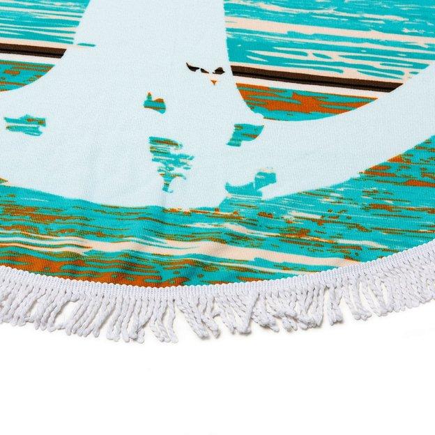 Strandtuch Anker