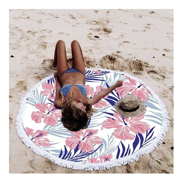 Serviette de plage Hibiscus