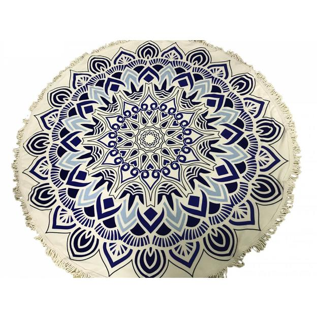 Serviette de plage Blue Lotus