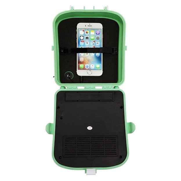 Sunnylife Bluetooth Lautsprecher Beach Sounds Lucite Green